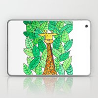 Watercolor Giraffe Laptop & iPad Skin