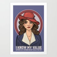 I Know My Value Art Print
