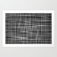 Ambient 7 In Grayscale Art Print