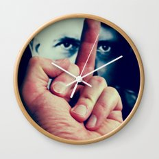 AntiHitler Wall Clock