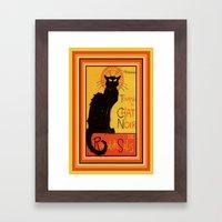 Tournee Du Chat Noir - A… Framed Art Print