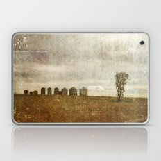 Nine Silos a Tank and a Tree Laptop & iPad Skin