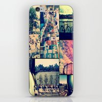 London Collage iPhone & iPod Skin