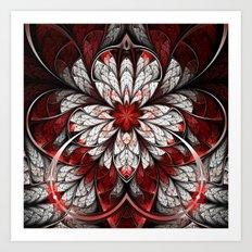 Bleeding Art Print