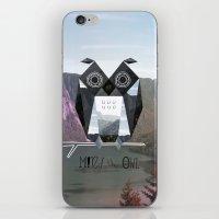 Mind the Owl! iPhone & iPod Skin