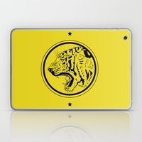 Tiger In A Circle Laptop & iPad Skin