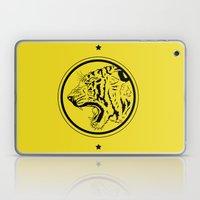 Tiger in a circle Laptop & iPad Skin