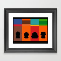 SouthPark: Meet Some Friends of Mine Framed Art Print