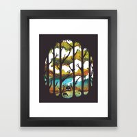 A Magical Place Framed Art Print