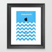 Apple Society Framed Art Print