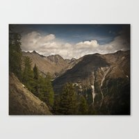 Roaming The Mountains Canvas Print