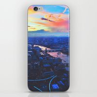 London Skyline COLOR iPhone & iPod Skin