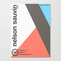 Nelson Sauvin//single Ho… Canvas Print
