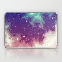 Rainbow Nebula (8bit) Laptop & iPad Skin