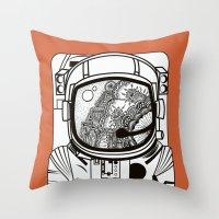 Searching For Human Empa… Throw Pillow