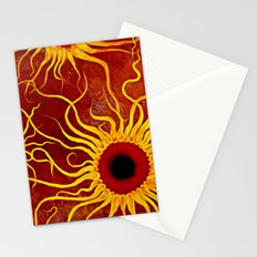 Psychedelic Susan 002, Sunflowers Stationery Cards