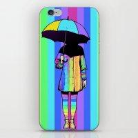 NEON GIRL iPhone & iPod Skin
