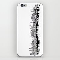 Cityscape Collage iPhone & iPod Skin