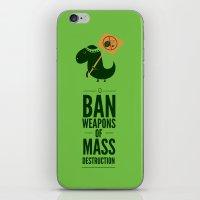 Occupy Jurassic Park iPhone & iPod Skin