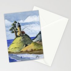 Peaceful Lighthouse IV Stationery Cards