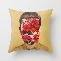 that face Throw Pillow