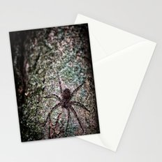 Creepy Spider Stationery Cards