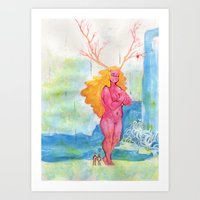 On the Nature of Spirits: Flora Art Print