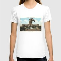 The King of Austin Womens Fitted Tee White SMALL