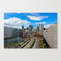 Denver, the real Sunshine State! Canvas Print