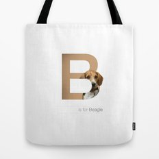 B is for Beagle Tote Bag
