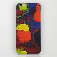 Abstract Colibrii. iPhone & iPod Skin