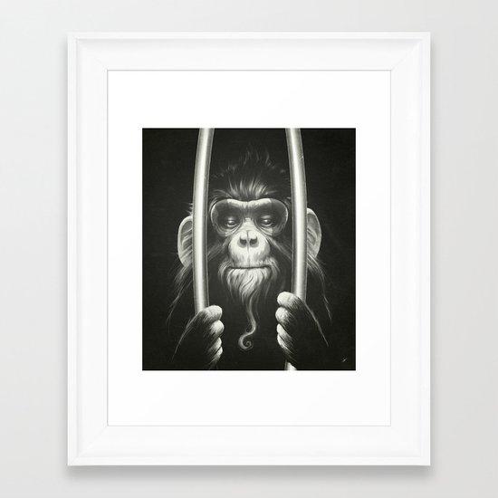 Prisoner II Framed Art Print