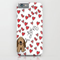 Hound Dog Love iPhone 6s Slim Case