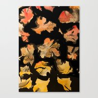 blossom note 2 Canvas Print