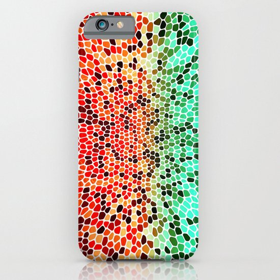 THINK MINTY ORANGE iPhone & iPod Case