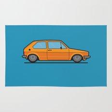 #19 Volkswagen Golf Rug
