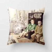 I Remember Throw Pillow