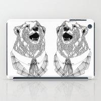 Mr  Bear iPad Case