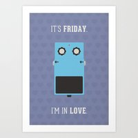 It's Friday! Art Print