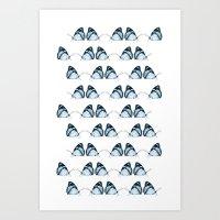 Butterflies In Dreams Art Print