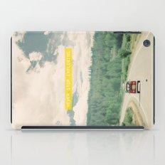 NEVER STOP EXPLORING - V… iPad Case