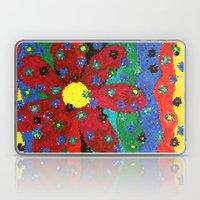 Mosaic Flower Laptop & iPad Skin