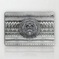Laptop & iPad Skin featuring Aztec Darth Troopers Bla… by Greenlight8