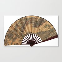 Japanese Fan Canvas Print
