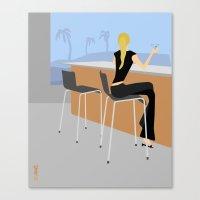 Bar Canvas Print