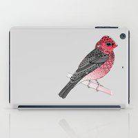 Scarlet Rosefinch iPad Case