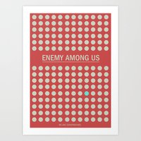 Enemy Among Us I Art Print