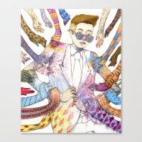 Leading Canvas Print