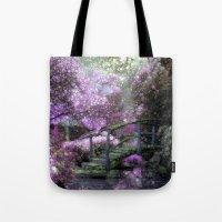 Purple Pink Paradise Tote Bag