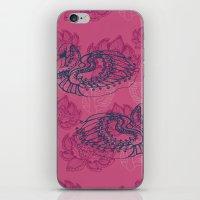 Hamsa, The Swan iPhone & iPod Skin